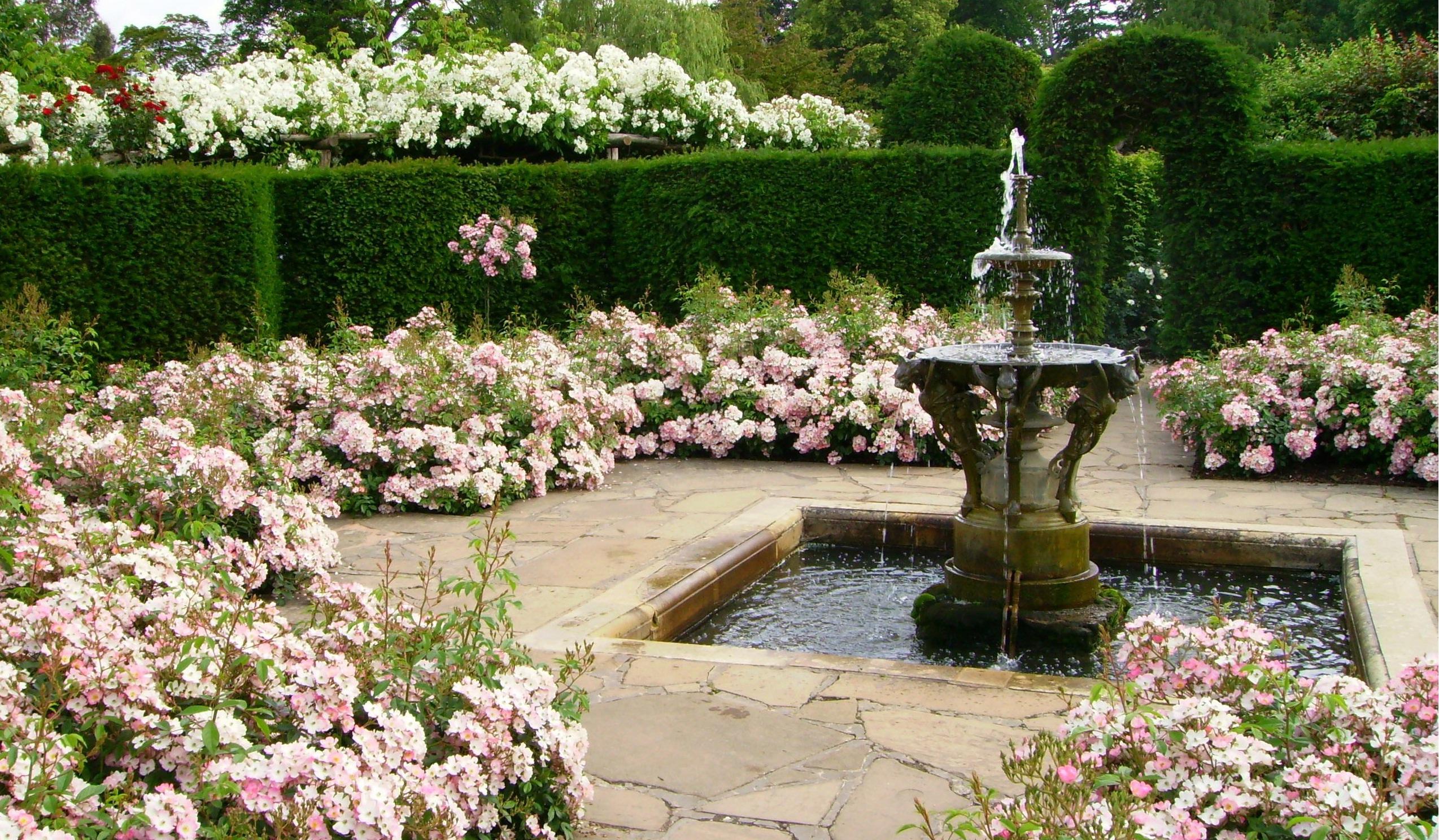 Разновидности садовых фонтанов. 2